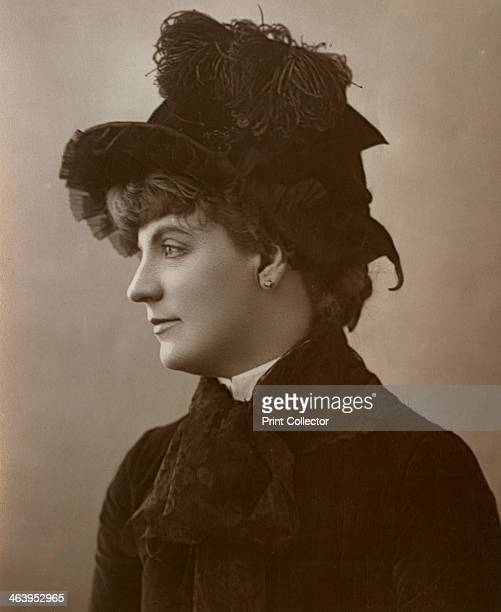 Miss Ada Rehan Irishborn American actress 1888 A photograph from The Theatre A Monthly Review Volume XII July to December Strand Publishing Company...