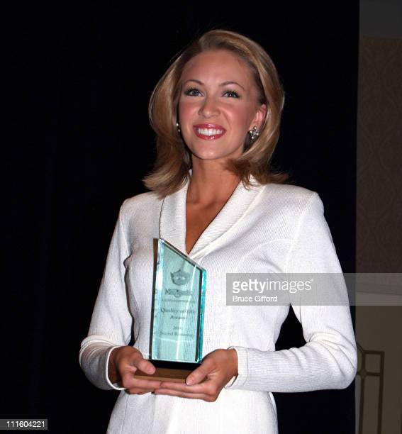Miss Alabama Alexa Jones during 2006 Miss America Pageant Press Conference and 'Quality of Life' Award at Aladdin Resort and Casino in Las Vegas...