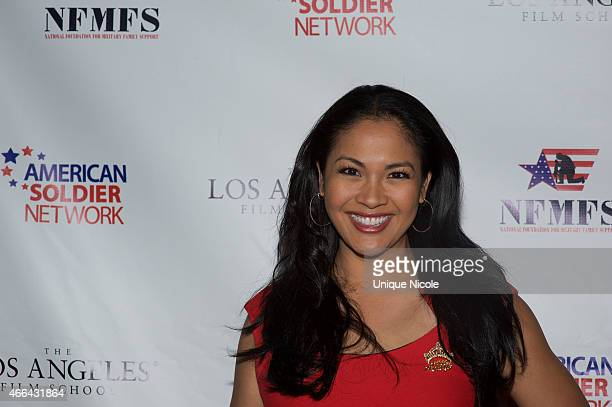 Miss America 2001 Angela Baraquio attends the Salute to Heroes Service Gala to benefit the National Foundation for Military Family Support at The...