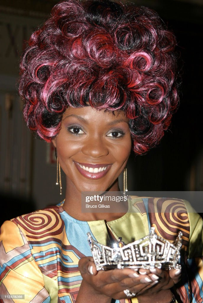 "Miss America 2004 Ericka Dunlap Announces her Platform of ""Diversity"" at The"