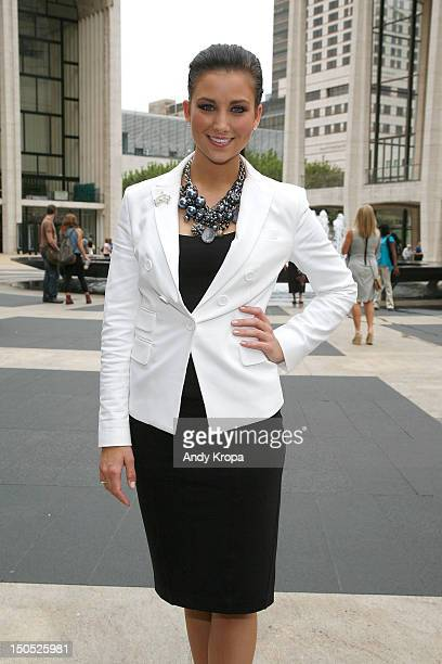 Miss America 2012 Laura Kaeppeler attends the 2012 Big Brothers Big Sisters Back To School Luncheon at David Rubenstein Atrium on August 20 2012 in...