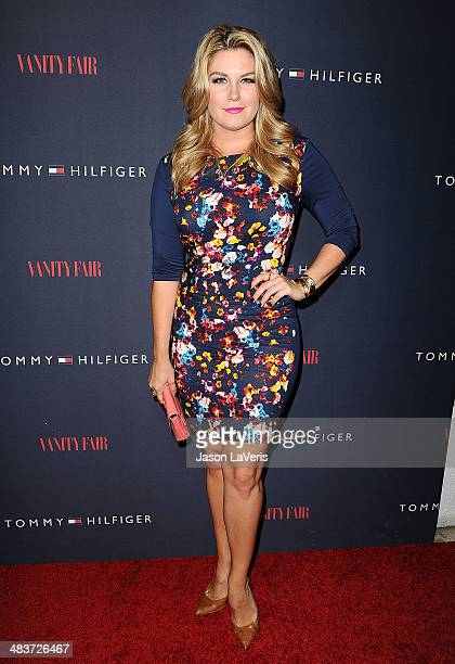 Miss America 2013 Mallory Hagan attends the debut of Tommy Hilfiger's Capsule Collection at The London Hotel on April 9 2014 in West Hollywood...