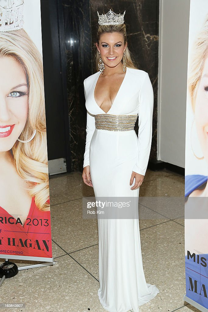 Miss America 2013 Mallory Hagan attends the Miss America 2013 Mallory Hagan Official Homecoming Celebration at The Fashion Institute of Technology on March 16, 2013 in New York City.