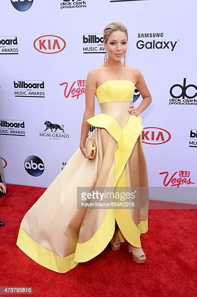 Miss America 2015 Kira Kazantsev attends the 2015 Billboard Music Awards at MGM Grand Garden Arena on May 17, 2015 in Las Vegas, Nevada.