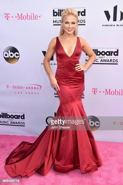 Miss America 2017 Savvy Shields attends the 2017 Billboard Music Awards at TMobile Arena on May 21 2017 in Las Vegas Nevada