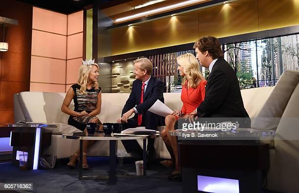 Miss America 2017 Savvy Shields Visits 'FOX Friends' at FOX Studios on September 14 2016 in New York City