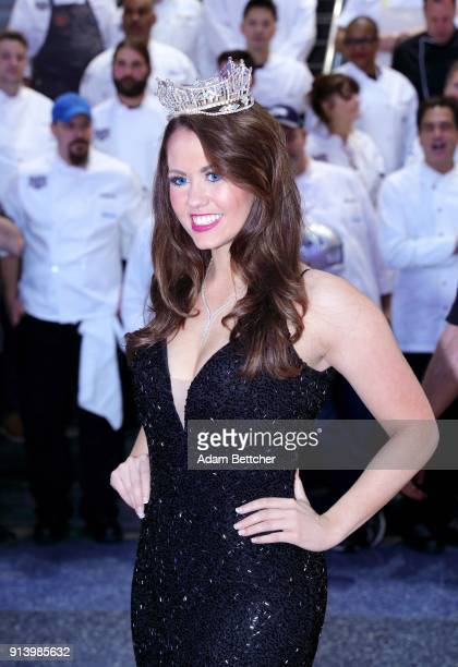 Miss America 2018 Cara Mund attends The 27th Annual Party With A Purpose on February 3 2018 in St Paul Minnesota