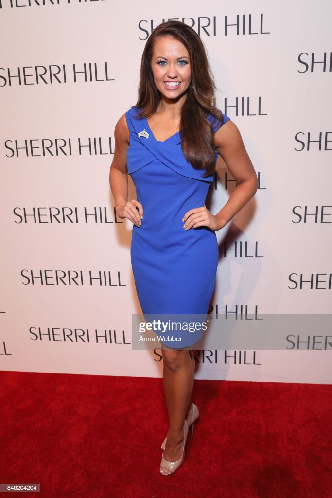 Miss America 2018 Cara Mund attends the Sherri Hill NYFW SS18 runway show at Gotham Hall on September 12, 2017 in New York City.