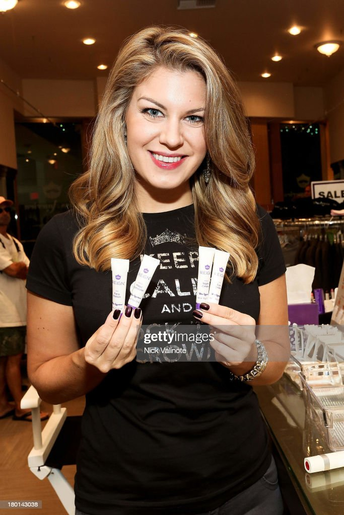 Miss America Mallory Hagan Gets A Glam Touch-Up With New Cosmetic Brand Reign