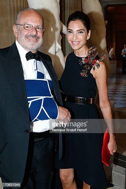 Miss and Mister Maurice Amon attends 'Liaisons Au Louvre III' Charity Gala Dinner Hosted by American International Friends of Le Louvre at Cour...