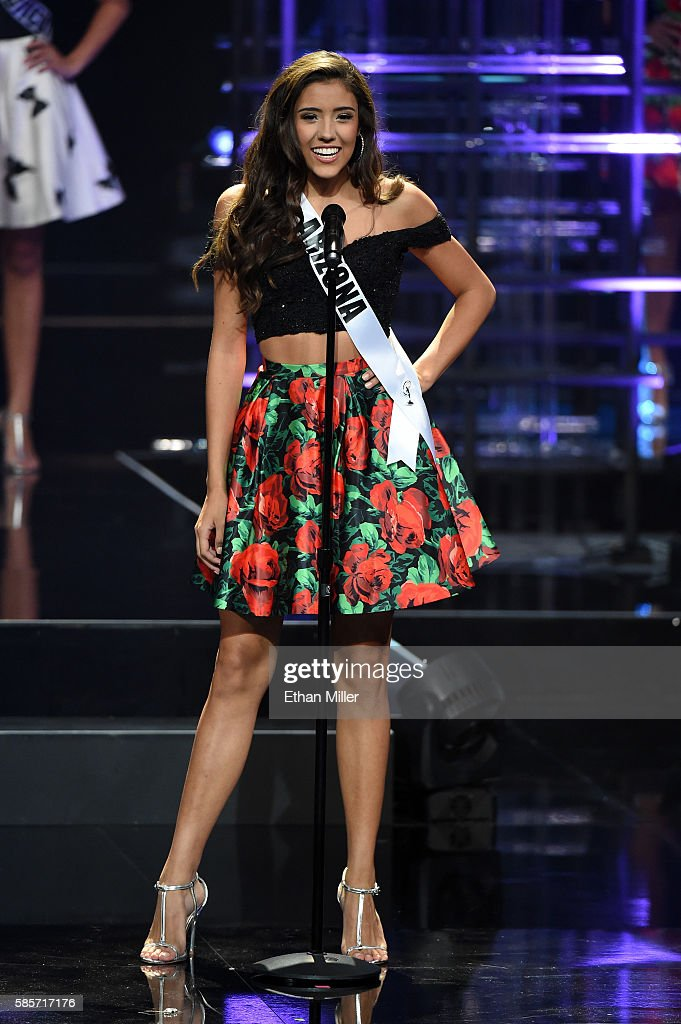 2016 Miss Teen USA Competition - Show : News Photo