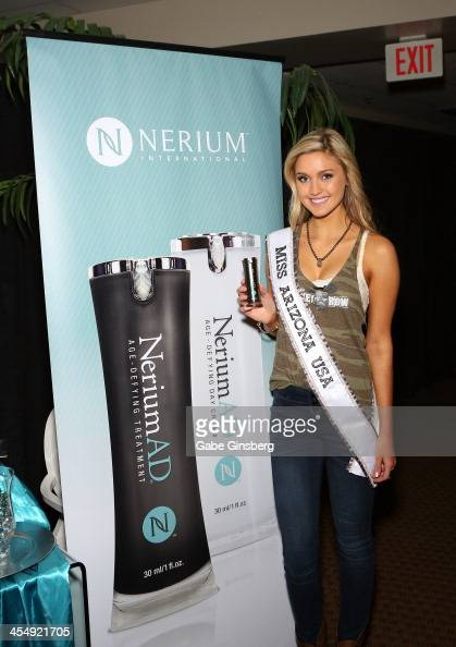 Jordan Wessel, Miss Arizona USA 2014, is photographed by