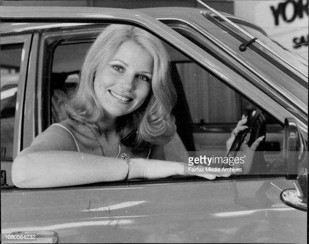 Miss Australia Gloria Krope Pictured at York Toyota City with the major prize for '79's Miss NSW January 26 1978