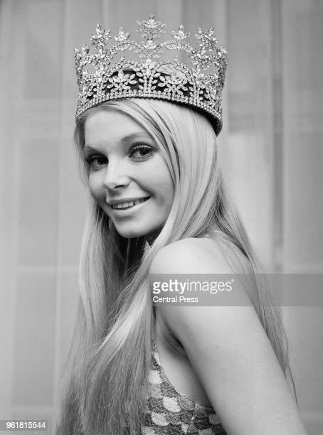 Miss Austria Eva RueberStaier at her London hotel the day after winning the Miss World beauty contest 27th November 1969