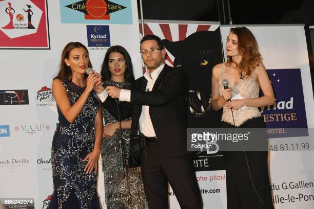 Miss Beaute Nationale 2018 Axelle Pierre Miss Beaute Nationale 1st Dauphine David Donadei and belen Ferris attend Miss Beaute Nationale 2018 Election...