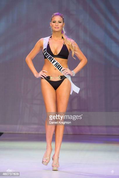 Miss Beverly Hills Cassandra Kunze won the title of Miss California USA 2014 at Terrace Theater on January 4 2014 in Long Beach California