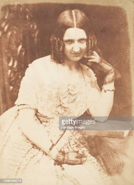 Miss Binney, 1843-47. Artist David Octavius Hill, Robert Adamson, Hill & Adamson.