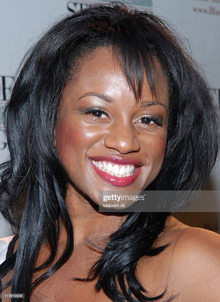 Miss Black California during The Black AIDS Institute 6th Annual Heroes in the Struggle Gala at Director's Guild in Los Angeles, California, United States.