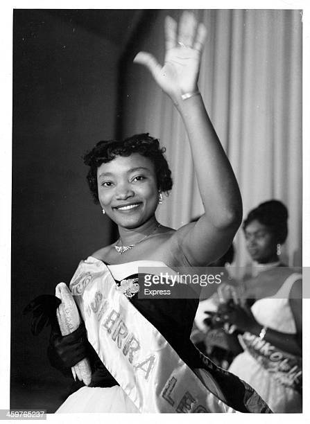 Miss Bola Williams was elected 'Miss Sierra Leone' at a nation wide beauty contest in Freetown part of the Independence Day Celebrations April 271961
