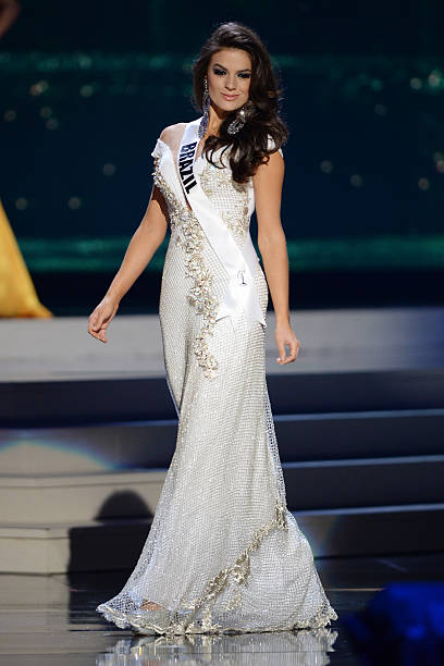 Miss Brazil Melissa Gurgel participtaes in the 63rd Annual Miss Universe Preliminary Show at Florida International University on January 21 2015 in...