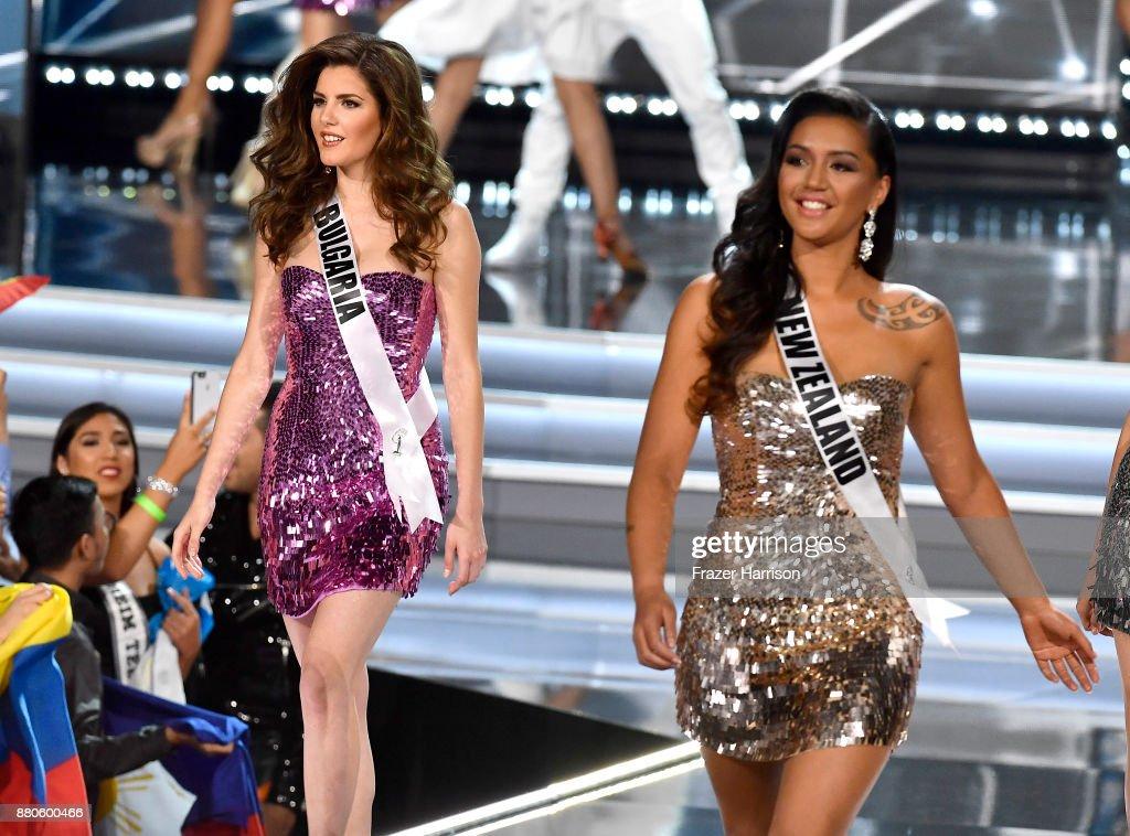 Nikoleta Todorova ( Bulgaria ) Miss Universe 2017 Photos