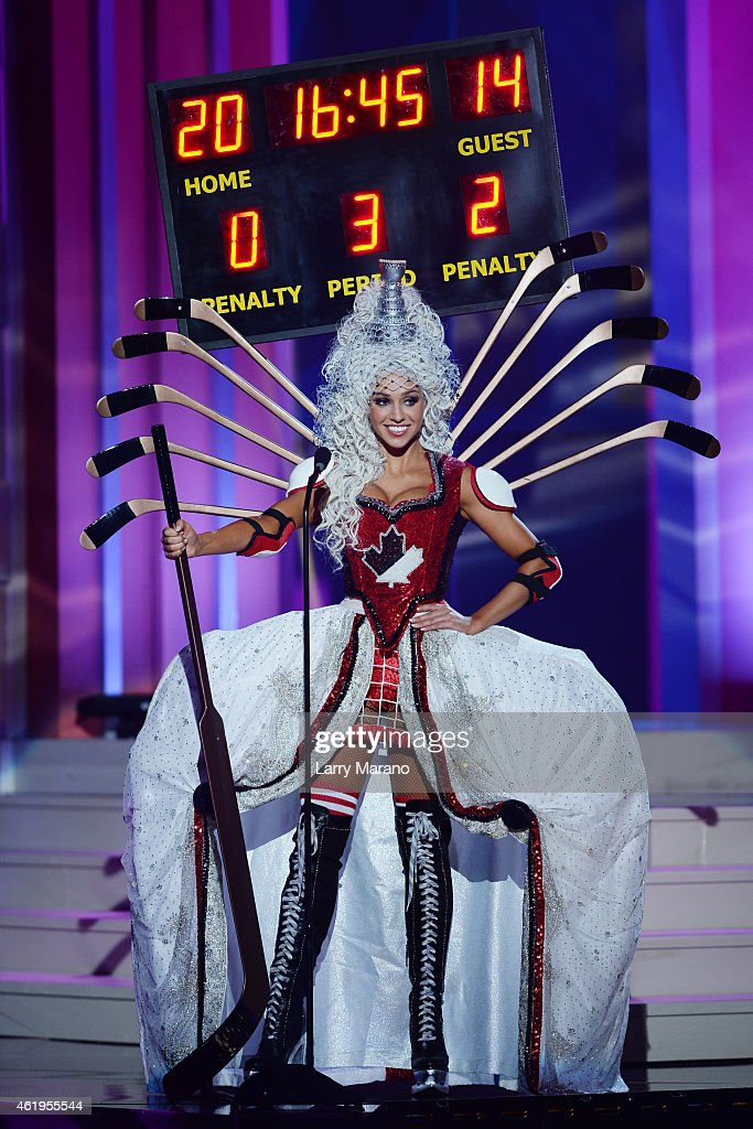 63rd Annual Miss Universe Preliminary Show : News Photo