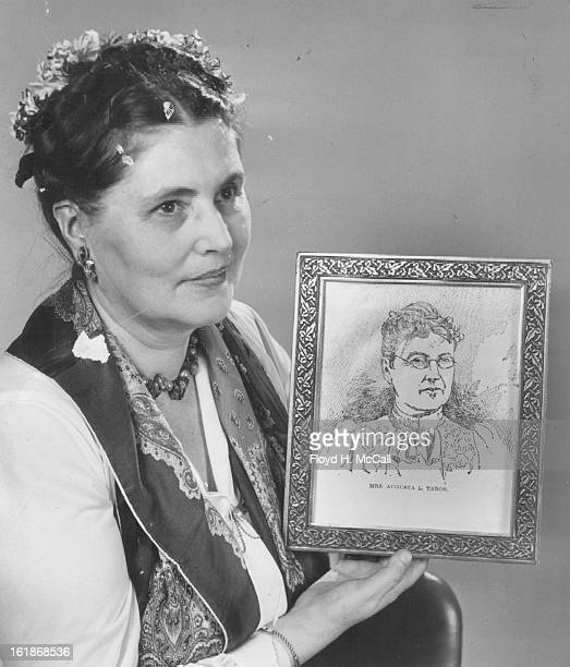 MAY 6 1955 MAY 8 1955 AUG 18 1966 AUG 21 1966 Miss Caroline Bancroft authority on the Tabor Legend will speak at public ceremonies Sunday May 29 at...