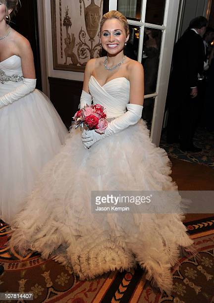 Miss Claire Susan Crenshaw attends the 56th International Debutante Ball at The Waldorf Astoria on December 29 2010 in New York City