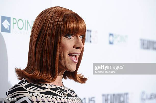 Miss Coco Peru arrives at The Advocate 45th Presented by Lexus held at The Beverly Hilton Hotel on March 29, 2012 in Beverly Hills, California.