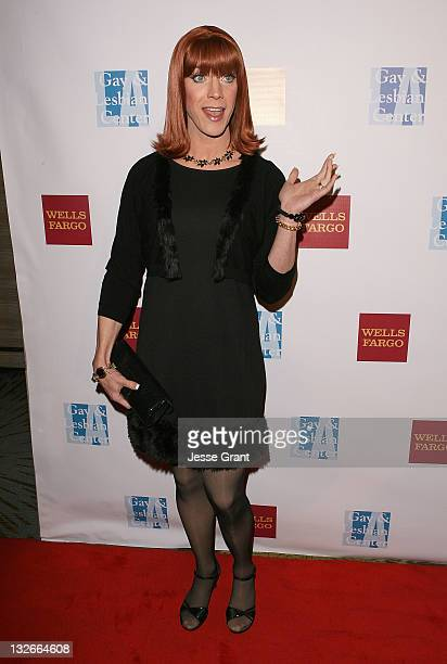 Miss Coco Peru arrives at the L.A. Gay & Lesbian Center's 40th Anniversary Gala and Auction at the Westin Bonaventure Hotel on November 12, 2011 in...