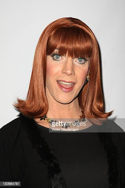 Miss Coco Peru arrives for the L.A. Gay & Lesbian Center's 40th Anniversary Gala & Auction at Westin Bonaventure Hotel on November 12, 2011 in Los...