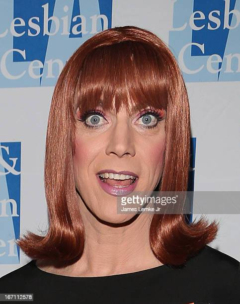 Miss Coco Peru attends The L.A. Gay & Lesbian Center's Lily Tomlin/Jane Wagner Cultural Arts Center Presents Conversations With Coco With Special...