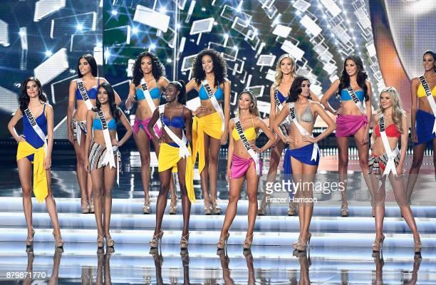 Miss Colombia 2017 Laura Gonzalez Miss USA 2017 Kara McCullough Miss Brazil 2017 Monalysa Alcantara Miss Canada 2017 Lauren Howe Miss Philippines...