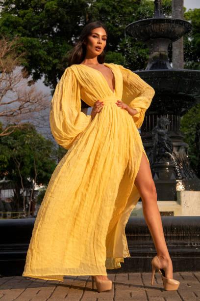 CRI: Ivonne Cerdas Miss Costa Rica - File Pictures