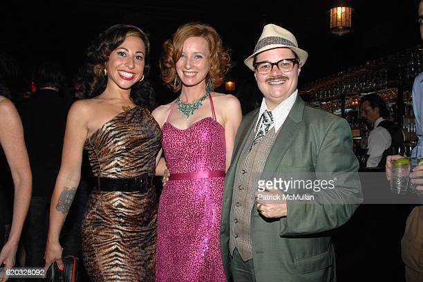 Miss Cyclone Miss Exotic World Angie Pontani Dianna Carlin and Murray Hill attend After Party for GLAMOUR Reel Docs Premiere Presented by Dreaming...