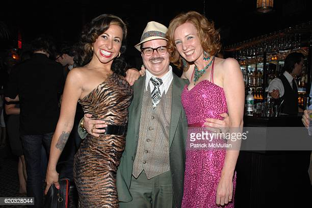 Miss Cyclone Miss Exotic World Angie Pontani Murray Hill and Dianna Carlin attend After Party for GLAMOUR Reel Docs Premiere Presented by Dreaming...