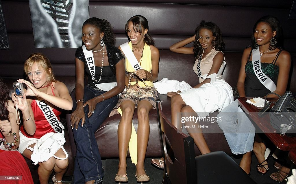 The 2006 Miss Universe VIP Reception And Billboard Unveiling : News Photo