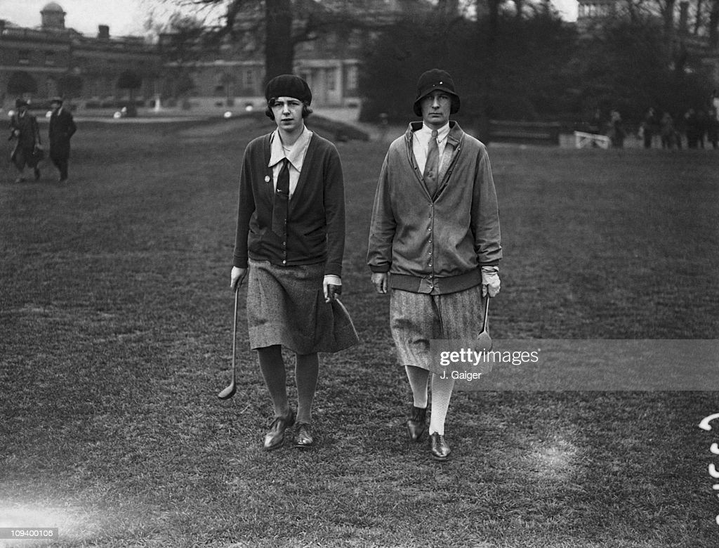 Lady Golfers : News Photo
