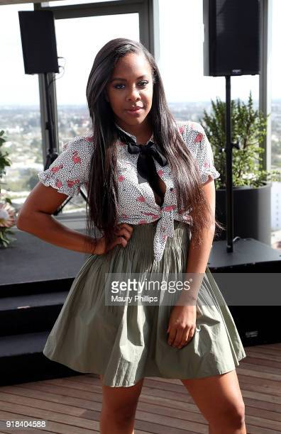 Miss Diddy attends Big Love Fest Women's Networking Event at The Jeremy Hotel on February 14 2018 in Los Angeles California