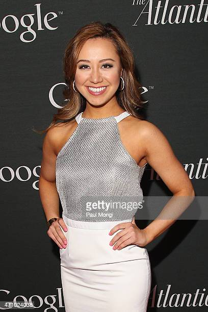 Miss District of Columbia Teresa Davis attends Google and the Atlantic White House correspondents' party at Constitution Gardens on the National Mall...