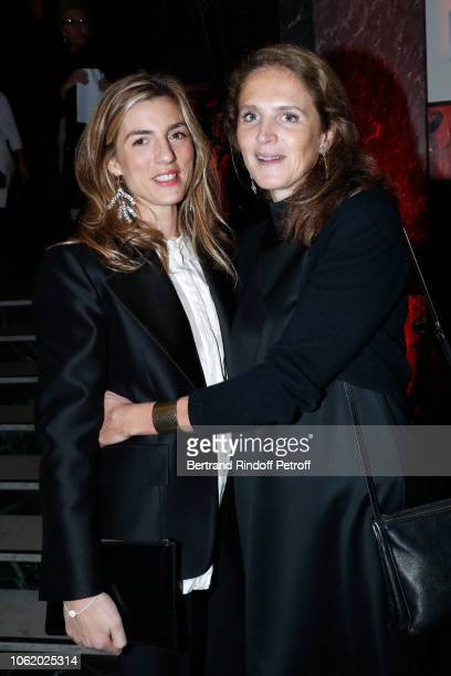 Miss Edmond Cohen and Marie Deniau attend the Gala evening of the PasteurWeizmann Council at Salle Wagram on November 15 2018 in Paris France