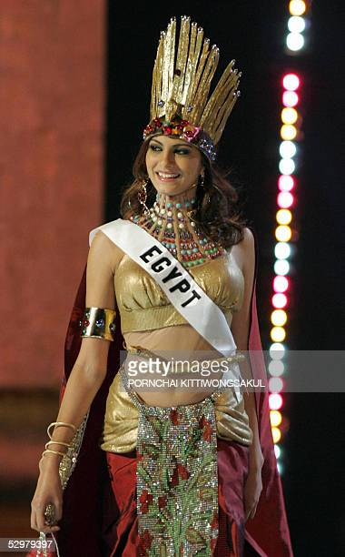 Miss Egypt Meriam George Stock Photos and Pictures   Getty ...