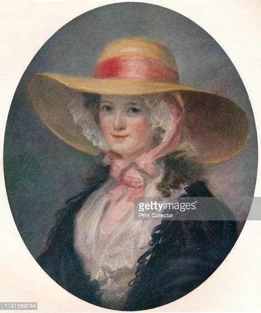 Miss Elizabeth Phelps' Portrait of Elizabeth Henriette Phelps by Matthew William Peters From The Connoisseur Vol LVI [Otto Limited London 1920]...
