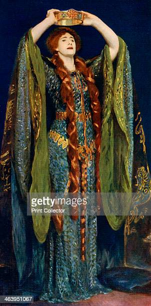 'Miss Ellen Terry as Lady Macbeth' The famous actress Dame Ellen Terry is shown here in the role of Lady Macbeth A colour print from Famous Paintings...