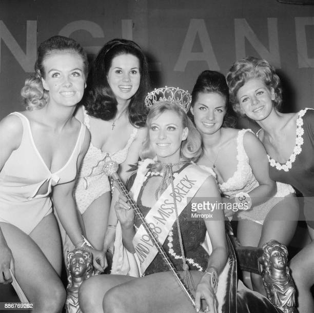 Miss England Beauty Competition 1968 the Lyceum Ballroom London Friday 26th April 1968 Jennifer Lowe Summers is crowned Miss England 1968 2nd is No33...