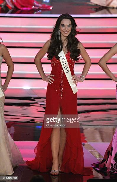 Miss England Eleanor Mary Anne Glynn is seen before being voted out of Miss World 2006 at Warsaw's Palace of Culture on September 30 2006 in Wasaw...