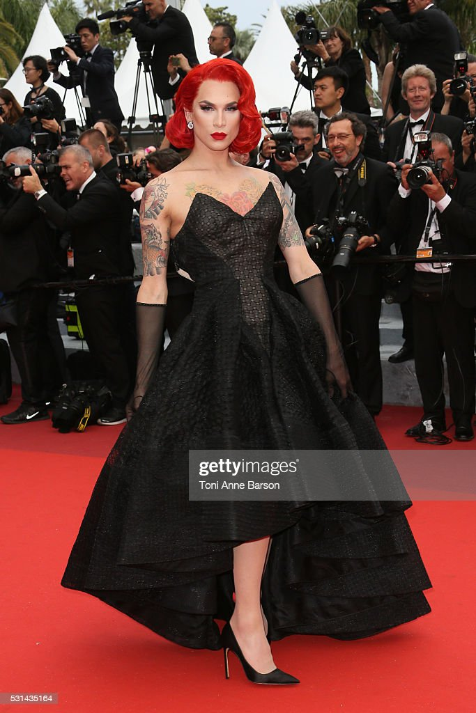 Miss Fame attends a screening of 'The BFG' at the annual 69th Cannes Film Festival at Palais des Festivals on May 14, 2016 in Cannes, France.