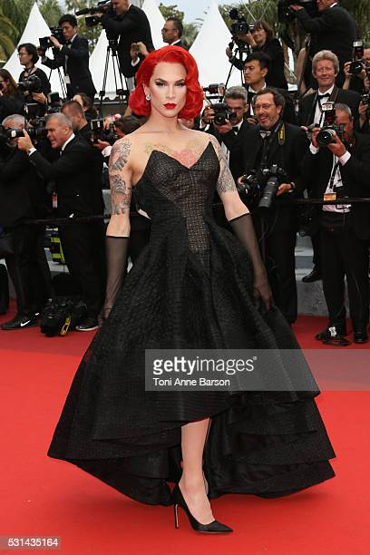 Miss Fame attends a screening of The BFG at the annual 69th Cannes Film Festival at Palais des Festivals on May 14 2016 in Cannes France