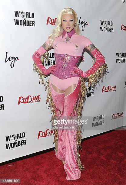 Miss Fame attends RuPaul's Drag Race Season 7 Finale And Coronation on June 1 2015 in New York City