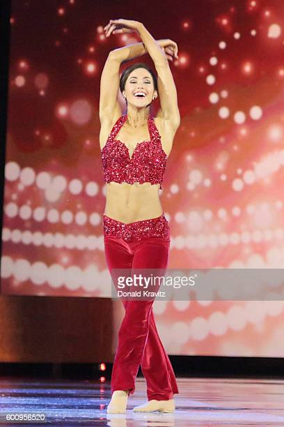 Miss Florida Courtney Sexton performs onstage during Miss America 2017 3rd Night of Preliminary Competition at Boardwalk Hall Arena on September 8...